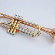 BB Трубы Японии Куно ktr-991 Фосфористая Бронза Трубки Позолоченные небольшой Трубы бемоль инструмент trompeta с случае мундштук