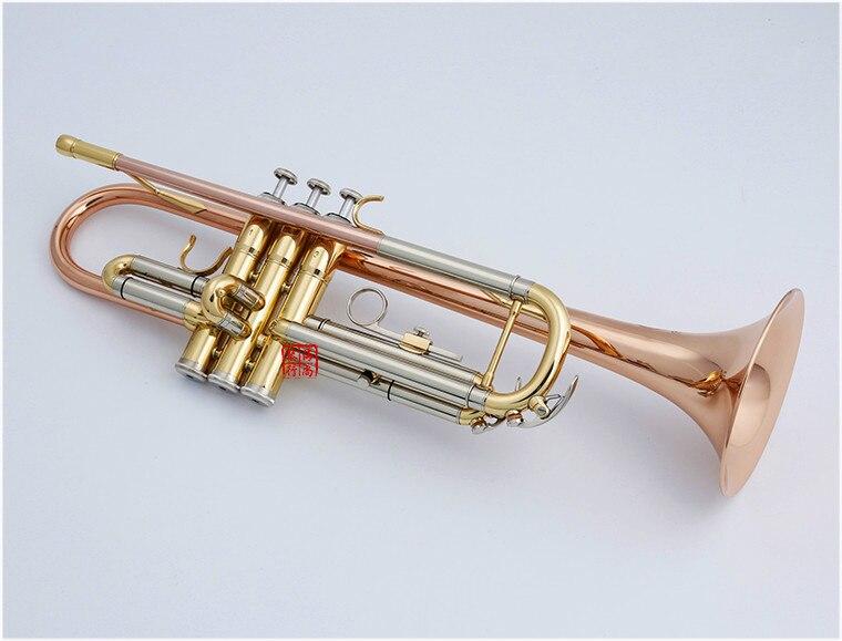 Bb Trompet Japan Kuno KTR 991 Phosphor Bronze Tube Guld-8920