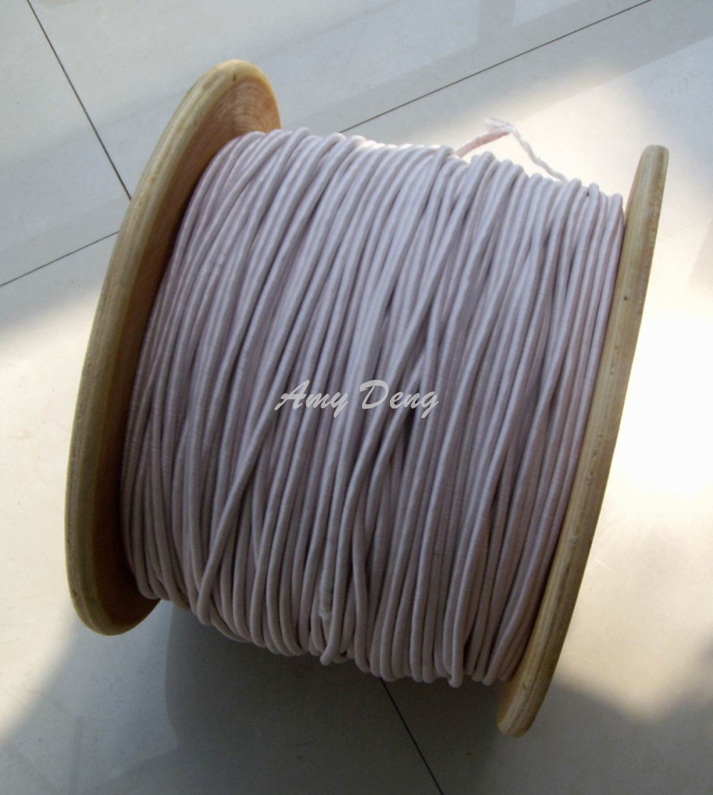 50meters/lot  0.1x250 Shares Mul Strand Polyester Envelope Copper Wire Liz Line Is Sold By The Metre
