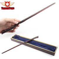 Newest Quality Sturdy Deluxe Metal Core COS Harry Potter George Weasley Magic Wands Stick With Gift
