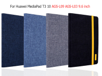 New Silicon Cloth PU Leather Smart Case For Huawei MediaPad T3 10 AGS W09 AGS L09