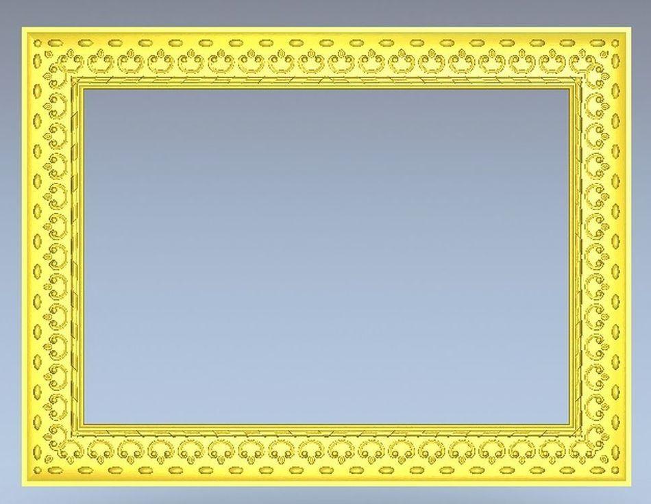 3d модель, рельеф для ЧПУ в формате STL Frame_13