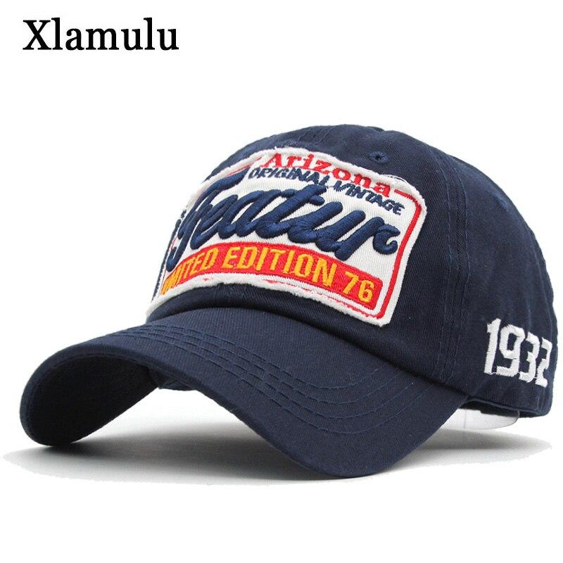 Xlamulu Baseball Caps Hats For Men Oakland Band Snapback Women Cotton Caps Embroidery Male Bone Hat Gorras Men Casquette Dad Cap oakland raiders