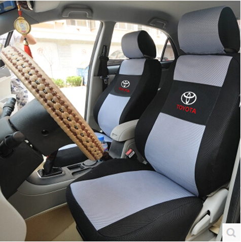 Universal Car Seat Cover For Toyota Corolla Camry Rav4 Auris Prius Yalis Avensis 2014 Runner 86 Black Beige Red Accessories In Automobiles Covers