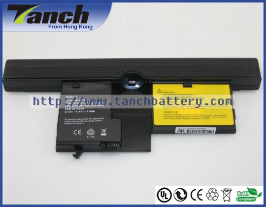 Laptop battery for Lenovo FRU 42T5208 ThinkPad X61 Tablet PC 7767 FRU 42T5204 X60 Tablet PC 40Y8318 14.4V 8 cell