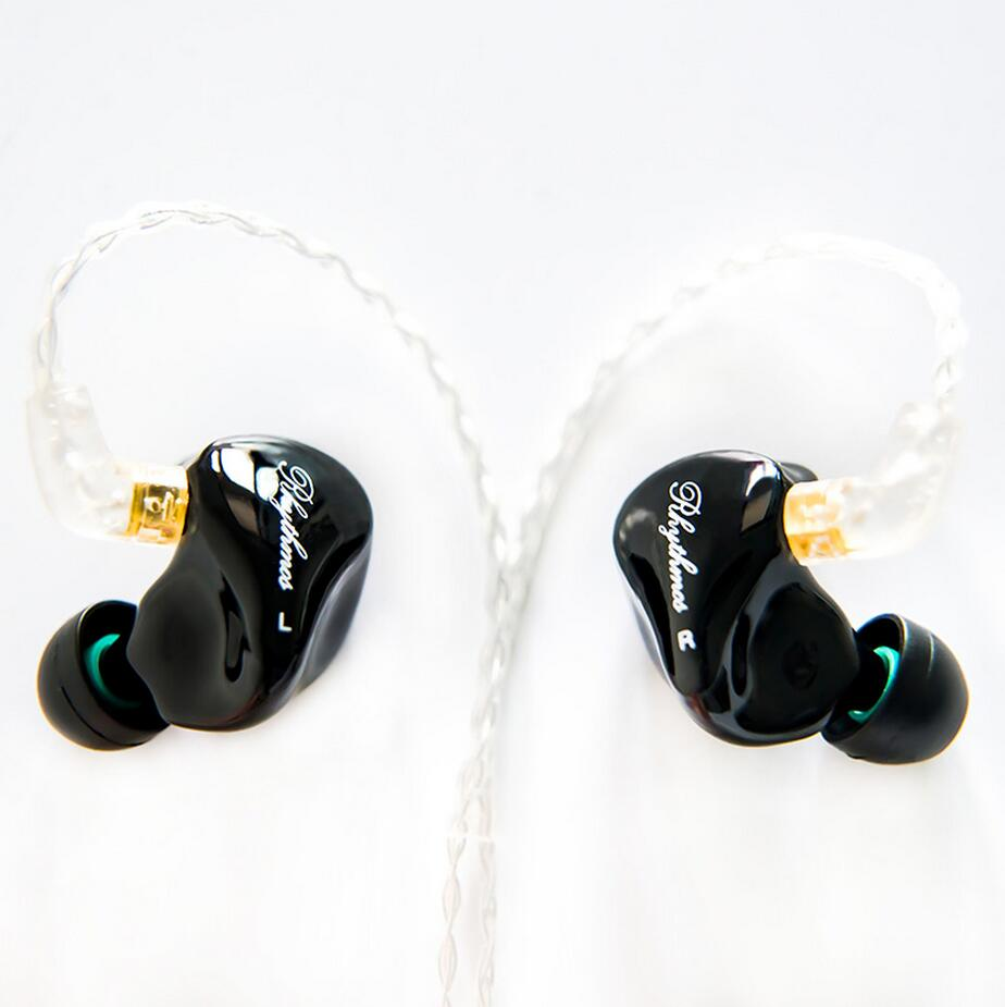 Rhythmos SD6 6BA Custom Made Balanced Armature W80 UE900 K3003 Around Ear Earphone With MMCX Earbud