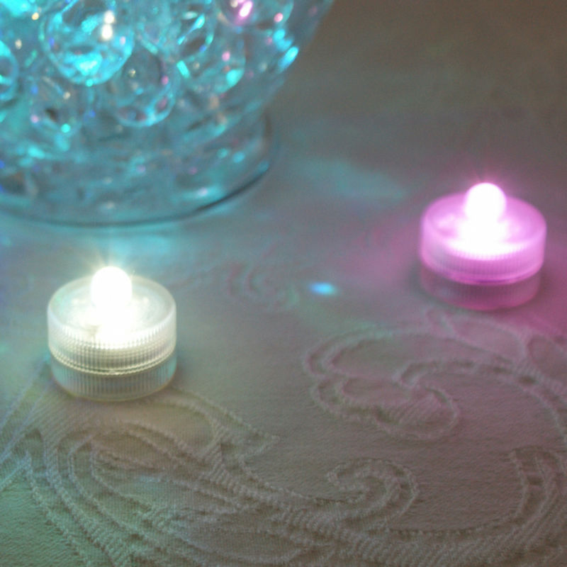Free Shipping Factory Vendor Mulit Color 120pcs/pack Led Submersible Wedding Floral Light Decor For Vases/wedding/events An Indispensable Sovereign Remedy For Home Lights & Lighting