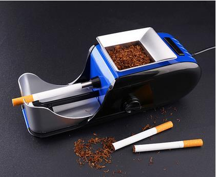 New product medium size durable automatic electric cigarette machine DIY cigarette rolling making machine free shipping