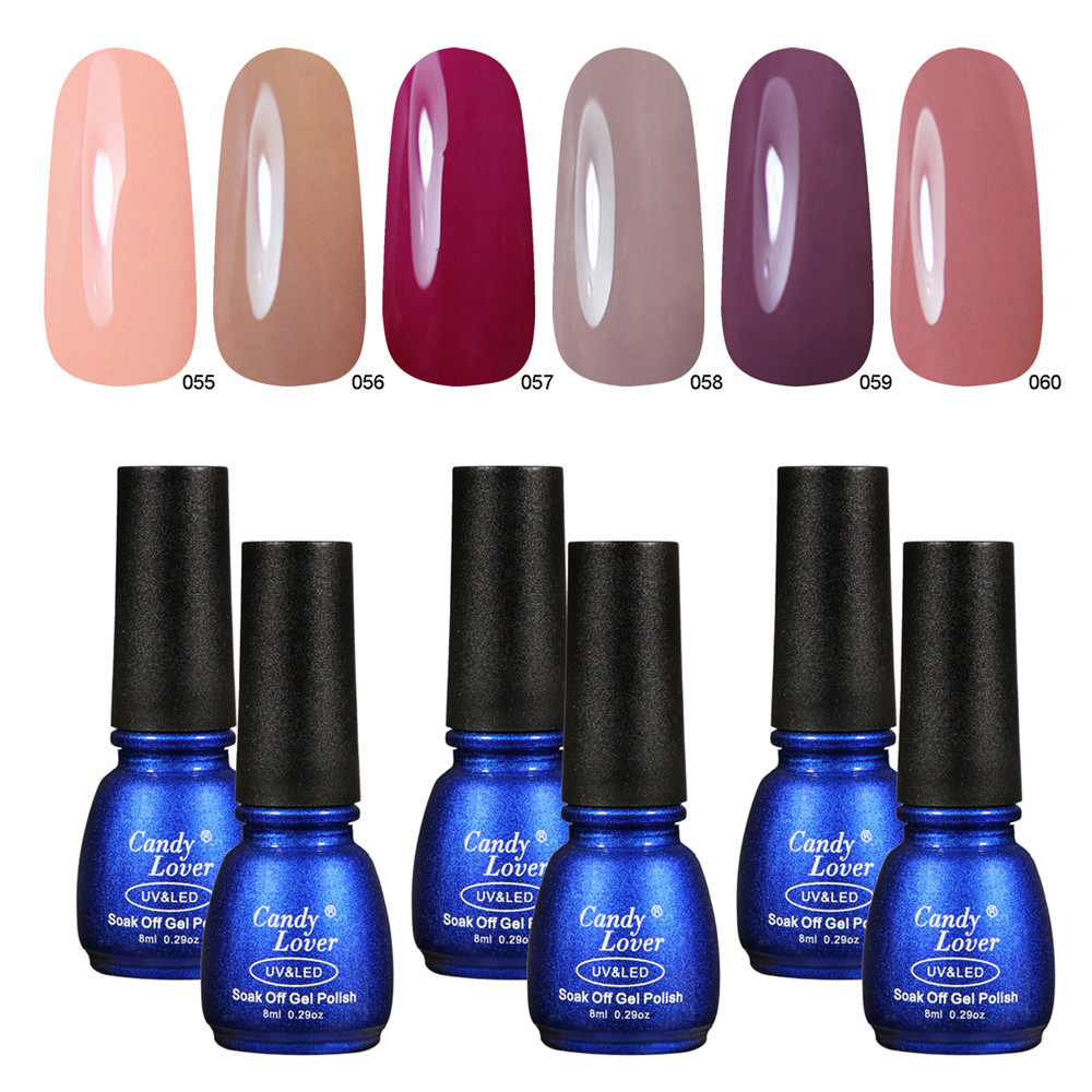 Gel Nail Polish Sale: Candy Lover Nail Polish Gel Hot Sale Nail Gel Lacquer UV