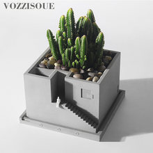 HOT 2019 Designer Maceta Suculenta Creative Gifts Concrete ...