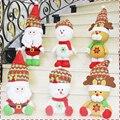 1/Шт 2016 Горячей продаж 44 см, 30 см, 55 см Куклы Плюшевые Игрушки Санта-Клауса, олень Чучела Животных Игрушки Для Детей Рождественские Подарки