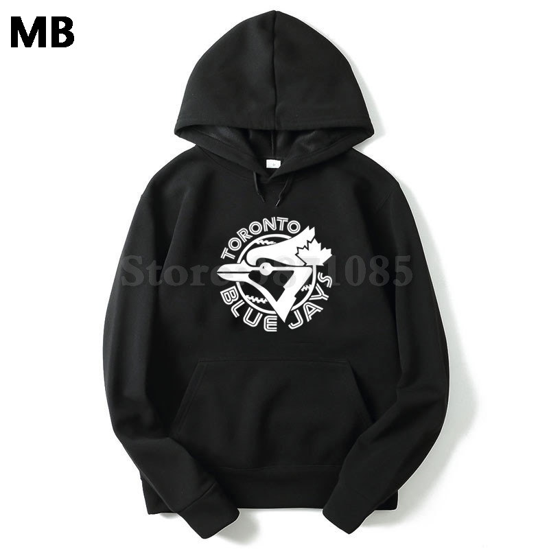 2018 Cotton Blend Mens Sweatshirt Casual Toronto Blue Jays Letters Logo Print Hoodies Size M-xxl Back To Search Resultsmen's Clothing