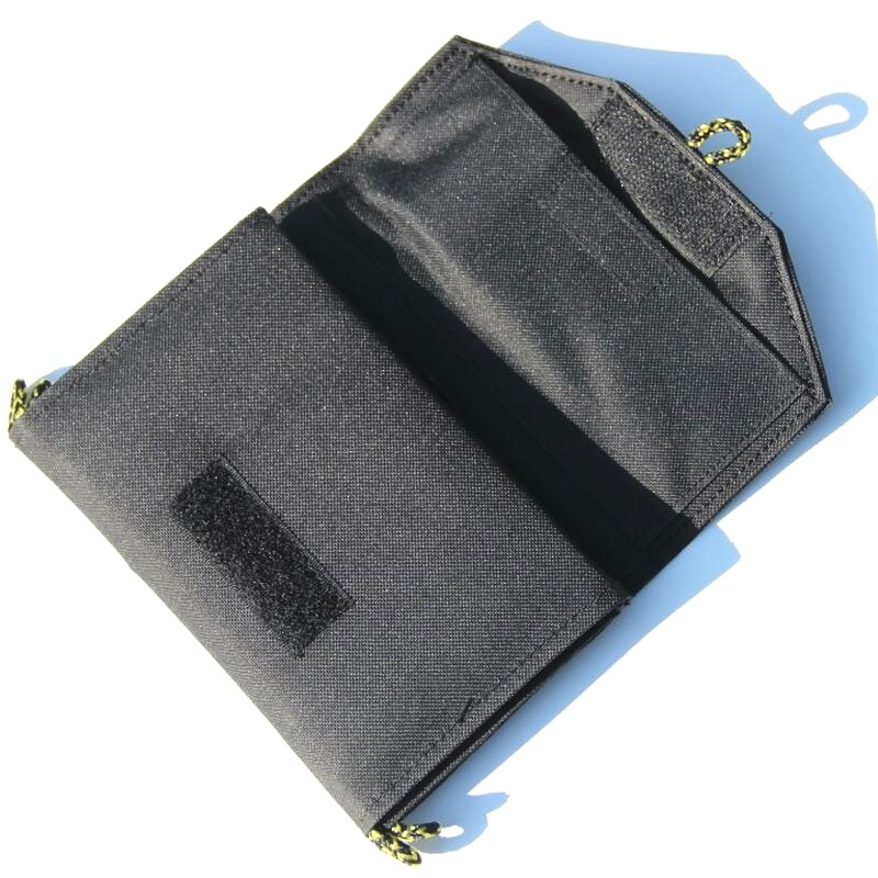 BUHESHUI 7W Foldable Solar Charger For iphone/Mobile Power Bank Solar Panel Solar Panel Battery Charger Black Free Shipping