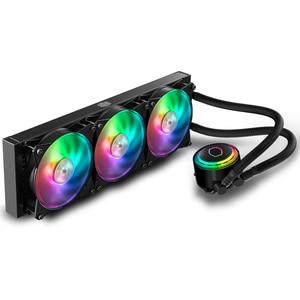 Image 5 - Cooler Master MLX D36M A20PC R1 ML360 CPU Water Cooler 120mm RGB Fan For Intel 115x 2011 2066 AMD AM4 CPU Liquid Cooling