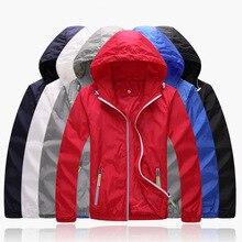Trend Brand Для мужчин/Для женщин тонкий 3 м светоотражающие куртка ультра-легкий Для мужчин Водонепроницаемый верхняя одежда ветровка пальто Весте Homme Softshell, YA297