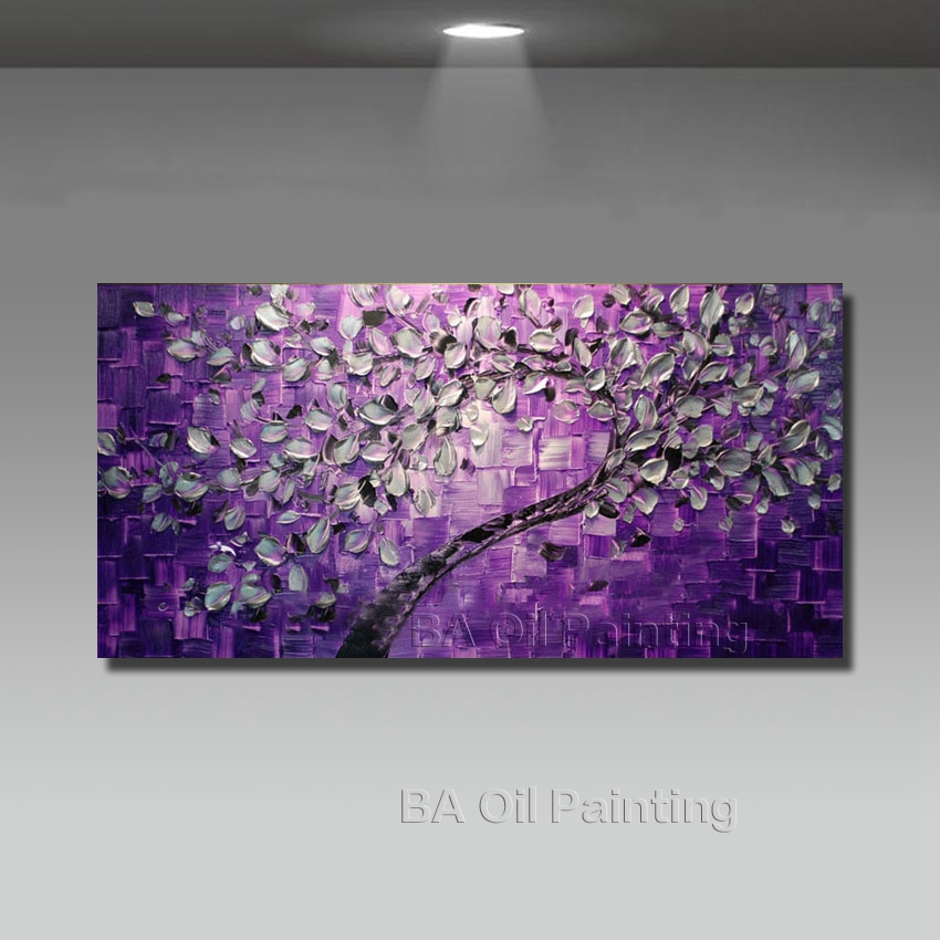 Buy free shipping big size wall art tree for Where to buy canvas art