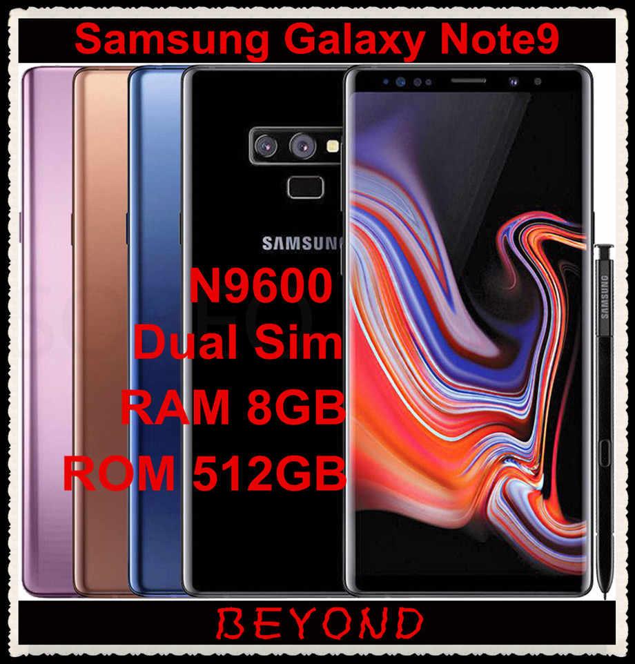 Samsung Galaxy Note9 Note 9 N9600 512G ROM 8G RAM Dual Sim Original 4G LTE  Phone Octa Core 6 4