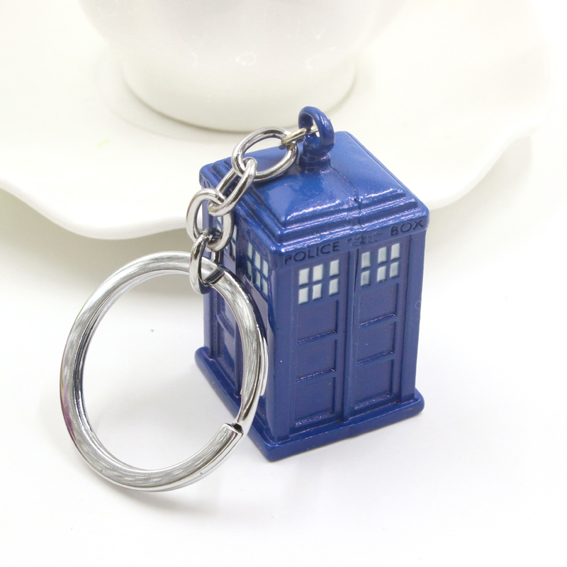 Image result for doctor who police box key chain