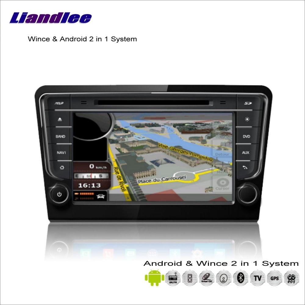 Liandlee Android мультимедиа для VW Bora/для Skoda Rapid/сиденья для Толедо MK4 Радио CD dvd плеер GPS навигация Аудио Видео