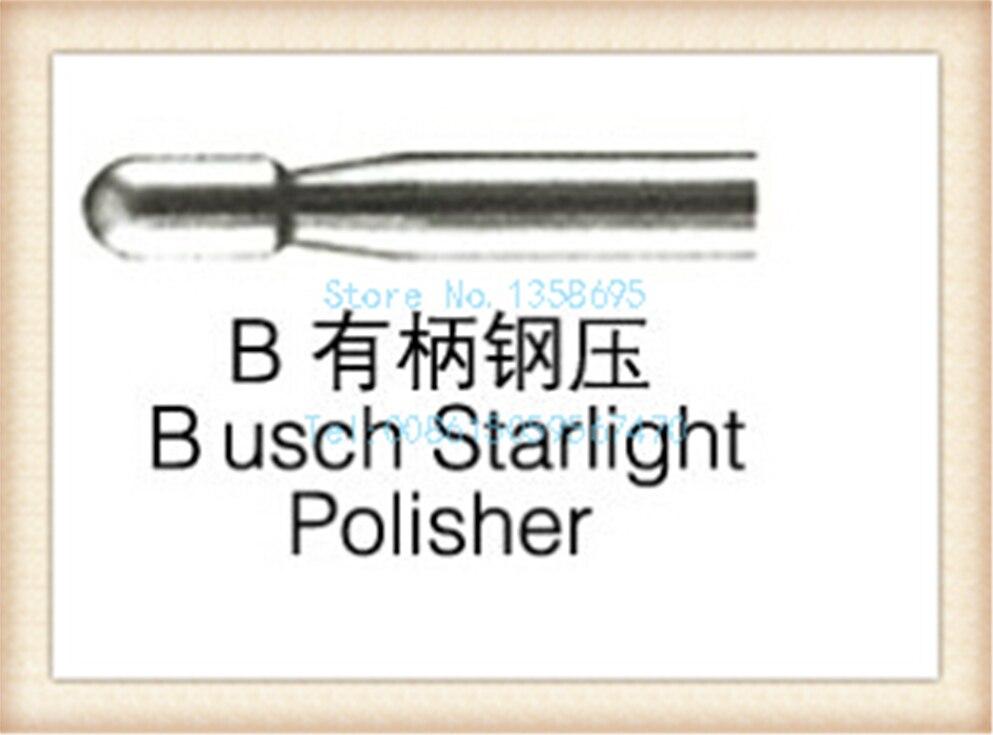 free shipping!D bush starlight polisher,6 pcs/ box,4 boxs/ bag,RPM>40000r/min,drill bit,drill polishing bur,steel bur lacywear gk 6 bur