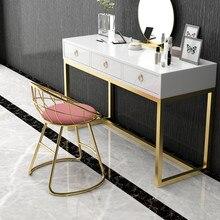Современный минималистичный стул для макияжа туалетный столик стул Ins чистая красная спальня мягкая сумка спинка стул