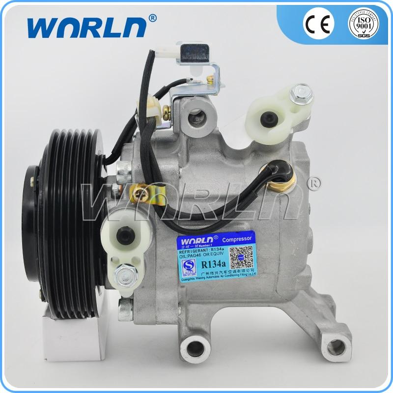 Auto Air Compressor SV07C pulley 6PK for Toyota Rush Daihatsu Terios/Sirion M3/Daihatsu Boon/Subaru 447190-6121 447160-2270 сверло makita p 26238