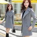 casaco feminino winter women coat abrigos mujer sobretudo poncho feminino inverno 2016 manteau femme female coat Wool Blends