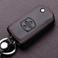 Funda de cuero Llave Del Coche Llavero Holder Para Mazda 2 3 6 8 Cx-5 Cx5 Cx 5 323 Cx-7 Cx-9 Flip Fob Coche Cuero Monedero Key Bag Case