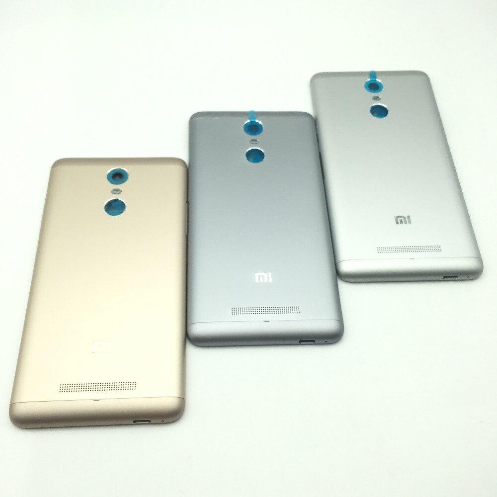 Цена за Redmi Note 3 оригинальная металлическая задняя крышка корпуса Батарея чехол для Xiaomi Redmi Note 3 Pro Камера стекло Объектив кнопку