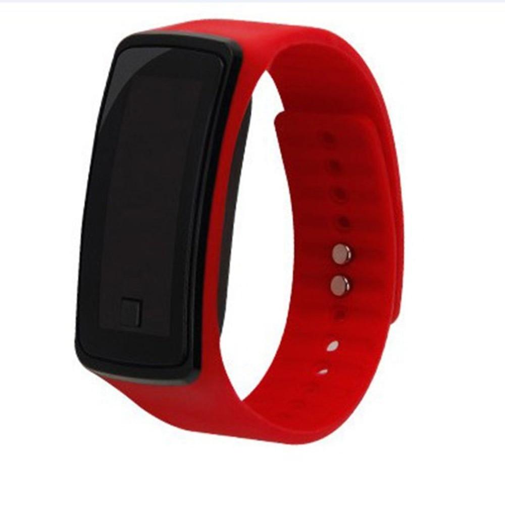 Fashion Silicone Gel Children LED Digital Wrist Watch Lightweight Sports Bracelet Clock Unisex Men Women Wristband  Hot