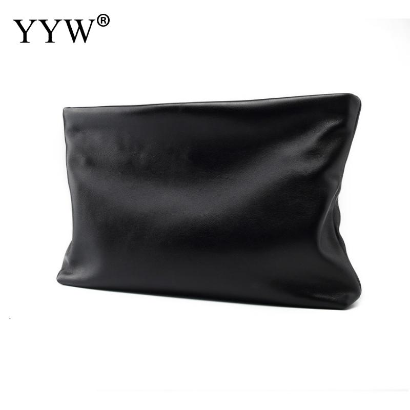 Handbag Envelope-Bag Clutch-Bag Messager Female Leather Women Fashion Solid Bolsos Mujer