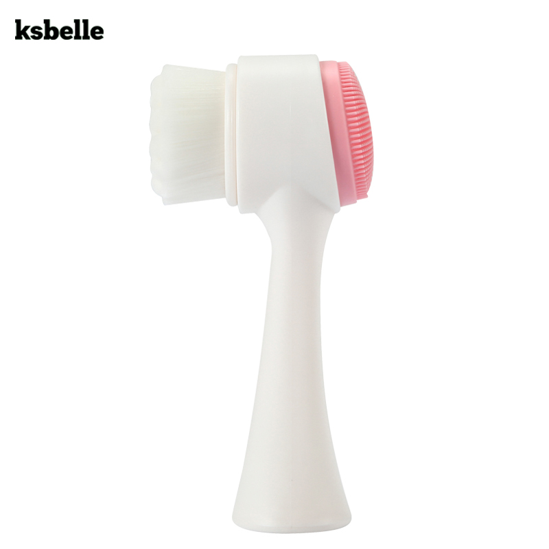 Facial Cleansing Brush Massage Face skin Cleanser Exfoliating Face Washing Tools deep Pore Cleansing Face Exfoliator