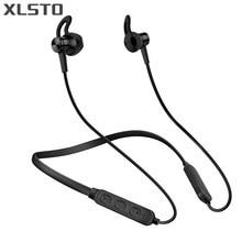 Magnete XLSTO Nuovo Sport Bluetooth Auricolare Neckband Auricolare Senza  Fili Della Cuffia Sweatproof Auricolari con Microfono 89125948d861