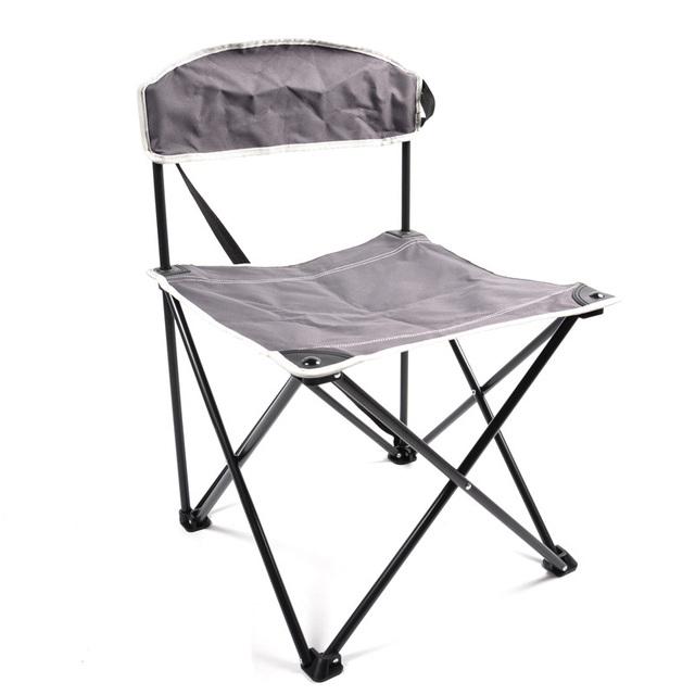 Frete grátis portátil dobrável ao ar livre cadeira acabamento