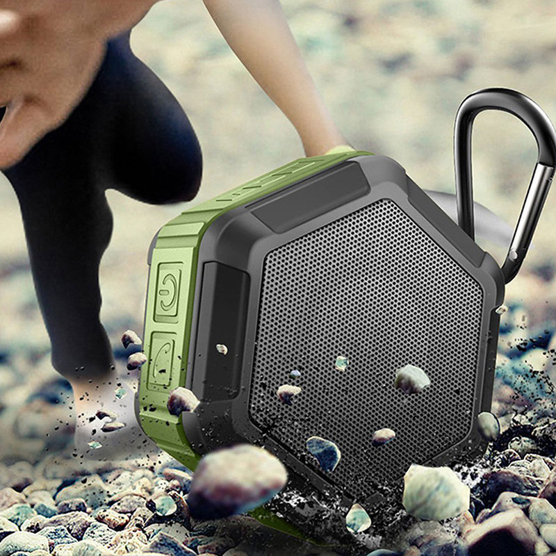Waterproof Bluetooth Wireless Speaker Mini Super BASS Portable Handsfree For Smartphone Stereo Audio Music USB TF Card Radio Mp3