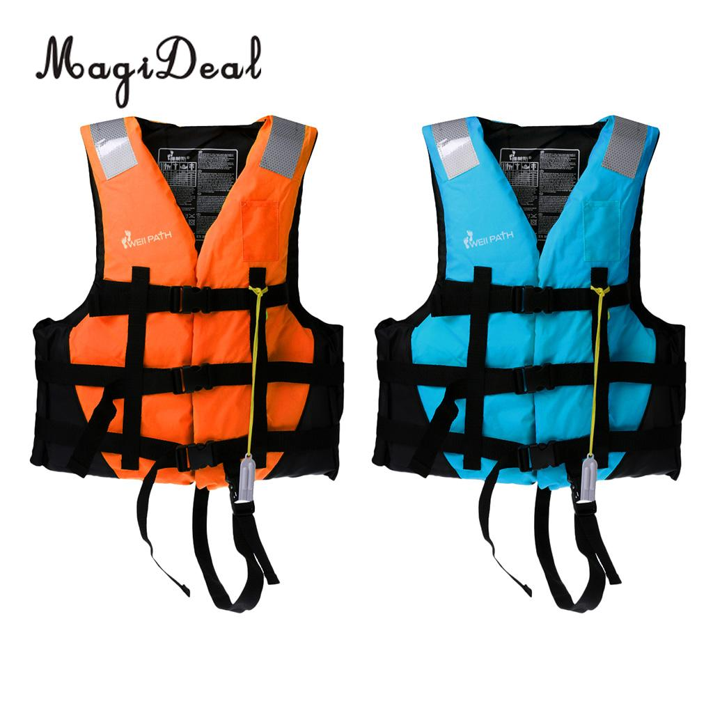 Life Jacket Fishing Boating Rafting Sailing Windsurfing Swimming Pool Help