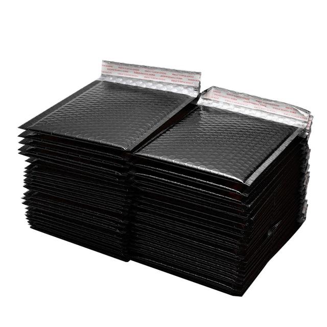 50 sztuk/partia 150x180mm złoty z papieru, wyściełane koperty koperty prezent torba Bubble koperta pocztowa torby do pakowania torby przewozowe