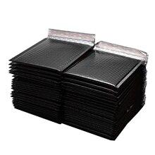 50 unidades/lote de sobres de papel dorado de 150x180mm, sobres de correos acolchados, bolsa de regalo, bolsa de sobre de correo de burbujas, bolsas de envío