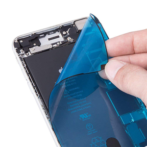 Image 2 - Tiras adhesivas de pantalla precortadas, impermeables, para iPhone 7, 7p, 8, 8 Plus, adhesivo de reparación de daños líquidos por agua