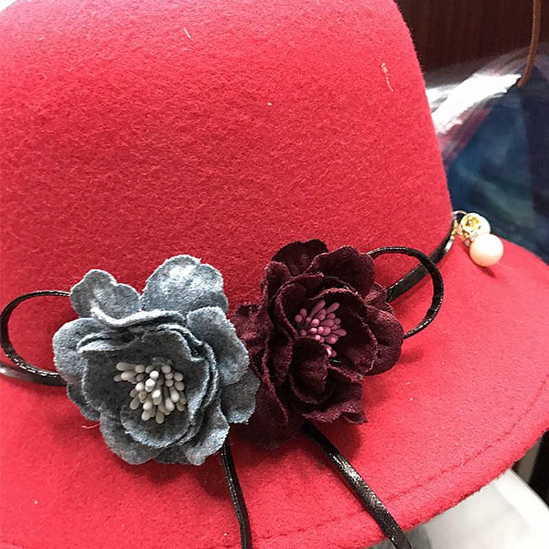 4 unids/lote de parches para cabezas de flores artificiales para guirnalda de sombreros de boda decoración de flores hechas a mano al por mayor