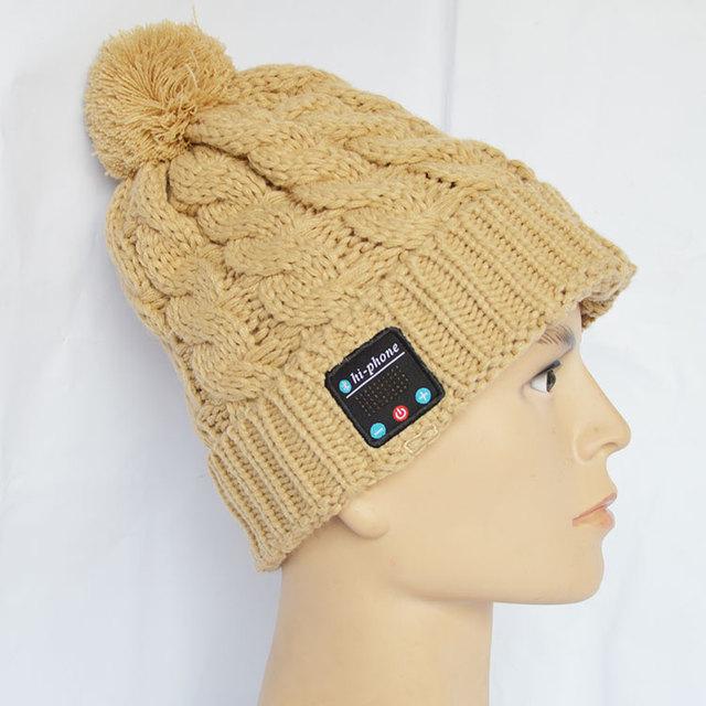 2015 venta caliente de moda inalámbrico bluetooth para auriculares sombrero con precio de fábrica.