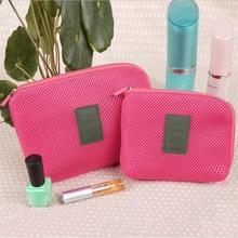 купить Travel Toiletry Bag Organizer Cosmetic Bag For Women Mini Travel Wash Storage Bag Ladies Beauty Case Nylon Makeup Pouch Hot Sale дешево