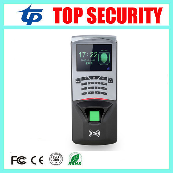 Door security fingerprint access control reader biometric fingerprint time attendance and access controller & RFID card reader tcp ip biometric face recognition door access control system with fingerprint reader and back up battery door access controller