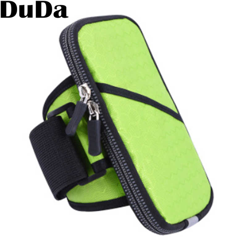 Aptidão correr Desporto Armband Arm Band Bag Bolsa Celular para iphone 7 6s 6 plus 5.5 polegada Do Telefone Móvel Titular Braço Wrist Band