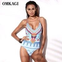 One Piece Swimsuit Women Monokini Sexy Swimwear 2016 Bandage Bathing Suit Summer Beach Wear Maillot De