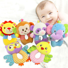 Baby Cute Toys Infant Newborn Stroller Plush Cartoon Animals Accessories For Kid