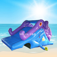 Cheap Outdoor Metal Frame Swimming Pool Inflatable Water Slide