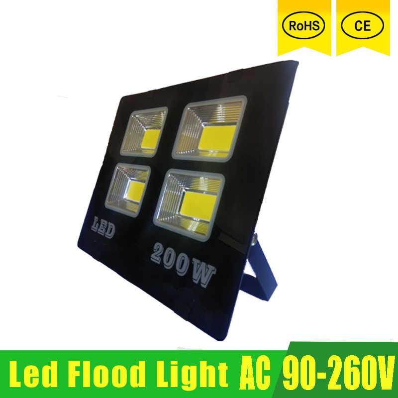 Светодиодный Spotlight Светодиодный прожектор Foco светодиодный внешний 220 v Водонепроницаемый IP65 150 w 100 50 w 30 w открытый настенный светильник сад прожектор