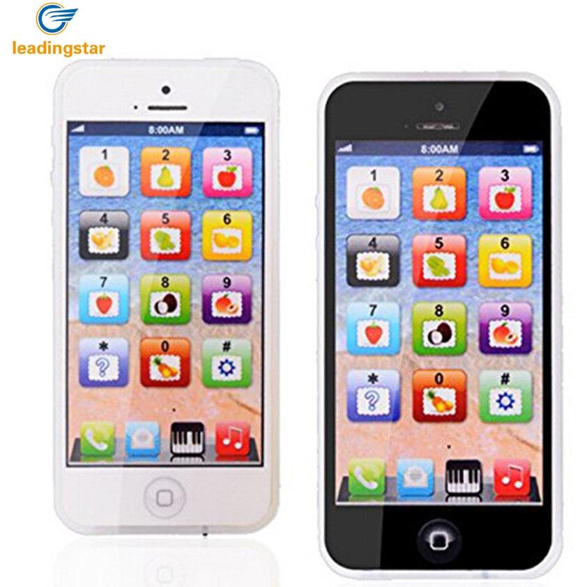 LeadingStar niños juguete del teléfono celular de los niños simulación teléfono juguete educativo con USB recargable al azar zk25