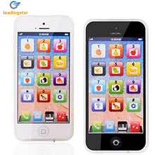 Recharable yphone simulation learning cell educational play toy children kids usb
